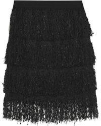 ViCOLO Knee Length Skirt - Black