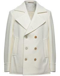 Eleventy Coat - White