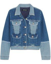 House of Holland Denim Outerwear - Blue