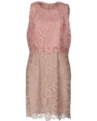 22 Maggio By Maria Grazia Severi Kurzes Kleid - Pink
