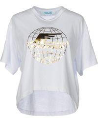 WOS - T-shirt - Lyst