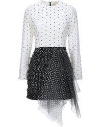 Daniele Carlotta Short Dress - White