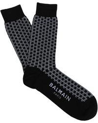 Balmain Short Socks - Black