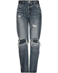 Moussy Pantalon en jean - Bleu