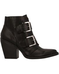 Madden Girl Ankle Boots - Black