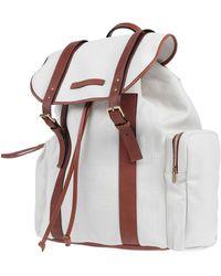 Brunello Cucinelli Backpacks & Bum Bags - White