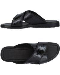 Billionaire Sandals - Black