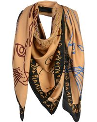 Ottod'Ame - Square Scarves - Lyst