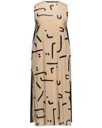 One Teaspoon Midi Dress - Natural