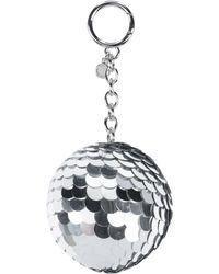 MICHAEL Michael Kors Key Ring - Metallic