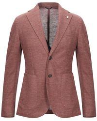 Luigi Bianchi Mantova Suit Jacket - Purple