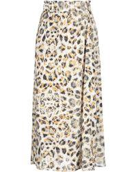 Gestuz 3/4 Length Skirt - Yellow