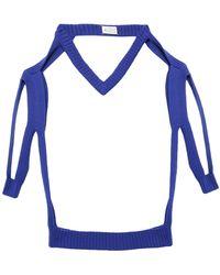 Maison Margiela Pullover - Bleu