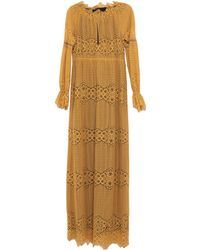 Pinko - Long Dress - Lyst