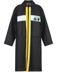 Miu Miu Overcoat - Black
