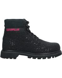 Caterpillar Ankle Boots - Black