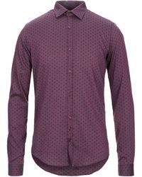 Aglini Shirt - Purple