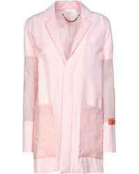 Heron Preston Suit Jacket - Pink