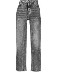 Maje - Denim Trousers - Lyst