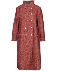 Souvenir Clubbing Overcoat - Red