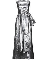 Carla G Midi Dress - Metallic
