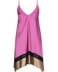 Carla G Short Dress - Purple