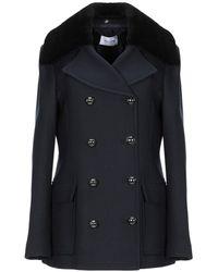 Aglini Overcoat - Blue