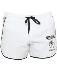 Moschino Swim Trunks - White