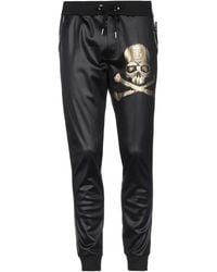 Philipp Plein Casual Trousers - Black