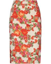 Essentiel Antwerp Knee Length Skirt - White