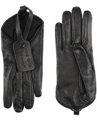 Off-White c/o Virgil Abloh Gloves - Black