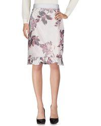 Brock Collection Midi Skirt - Grey
