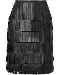 Michael Kors Falda corta - Negro