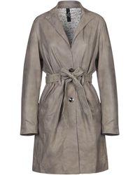 Vintage De Luxe Overcoat - Gray