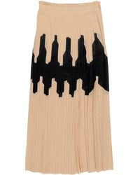 Jil Sander Long Skirt - Multicolor