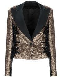 Elie Saab Suit Jacket - Metallic