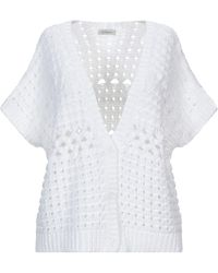 Cappellini By Peserico Cardigan - White