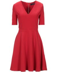 Trussardi Short Dress - Red