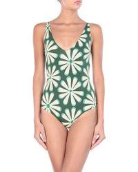 Siyu One-piece Swimsuit - Green