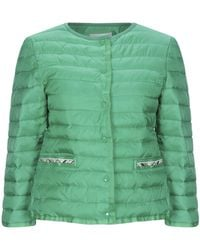 CafeNoir Synthetic Down Jacket - Green