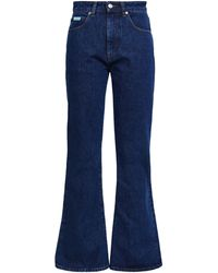 ALEXACHUNG Denim Pants - Blue