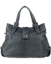 Secret Pon-pon Handbag - Gray