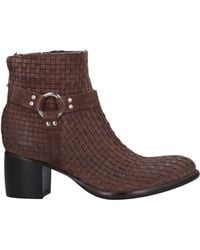 Rocco P Ankle Boots - Brown