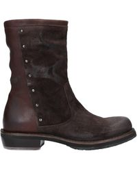 Pantanetti Ankle Boots - Brown