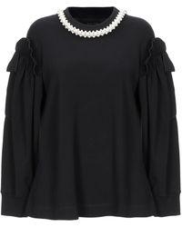 Simone Rocha Sweatshirt - Black