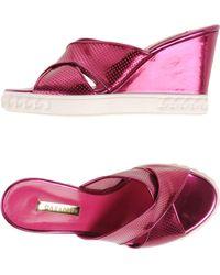 Casadei Sandals - Purple