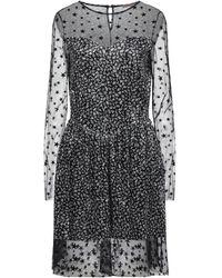 DV ROMA Short Dress - Black