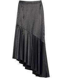 FEDERICA TOSI Midi Skirt - Black