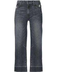 Mother Capri jeans - Nero