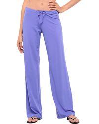 Fisico Beach Shorts And Pants - Purple